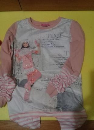 Модный свитшот с новогодним рисунком, кофта, реглан.🎄