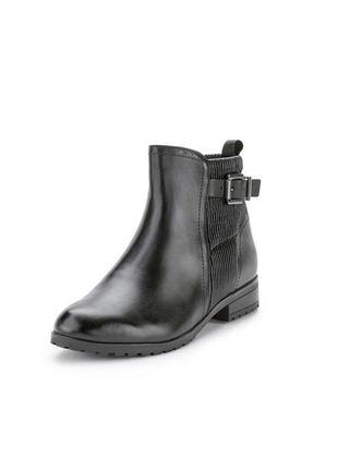 Кожаные ботинки caprice, 40 размер