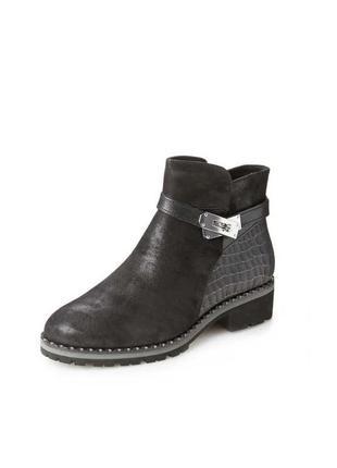 Кожаные ботинки caprice, 38 размер