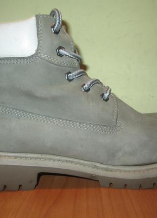 Ботинки dockers р.38.натур.нубук.оригина(легкое б/у)