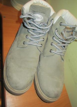 Ботинки dockers р.38.натур.нубук.оригина(легкое б/у)4