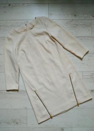Теплое платье свитшот р. 12