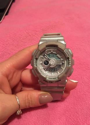 Часы baby-g , g-shock для девушек