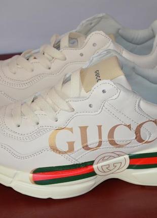 fb6193a3 Gucci кроссовки женские гуччи кожа Gucci, цена - 1260 грн, #18599728 ...