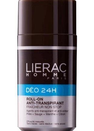 Лиерак дезодорант 24 часа защиты для мужчин lierac homme deo