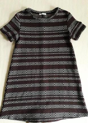 Плотное платье zara на осень-зиму