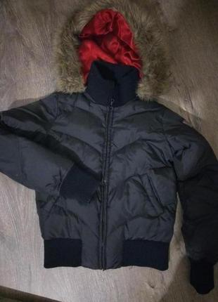 Оригинальный пуховик курточка от dkny