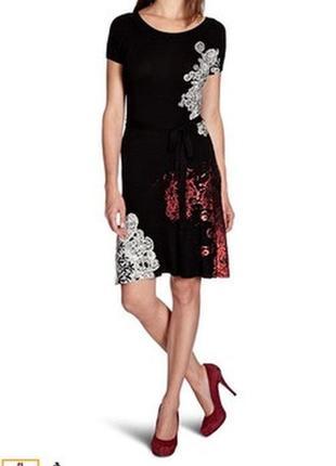 Шикарное платье от desigual , размер s, m