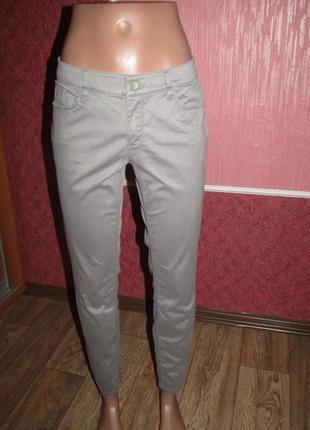 Укороченные брюки р-р м-10 стрейч mexx