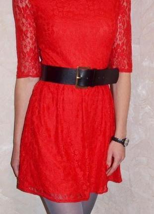Atmosphere обалденное платье красного цвета