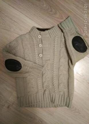 Тёплый свитер.      кл