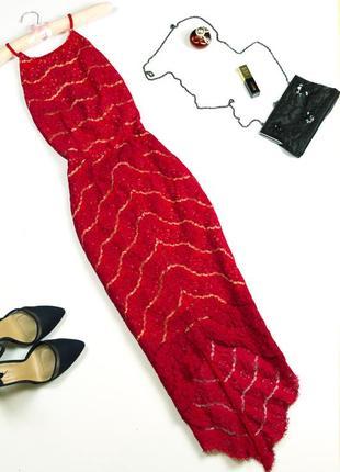 Шикарное кружевное платье в бельевом стиле с красивой спинкой новый год корпоратив xs