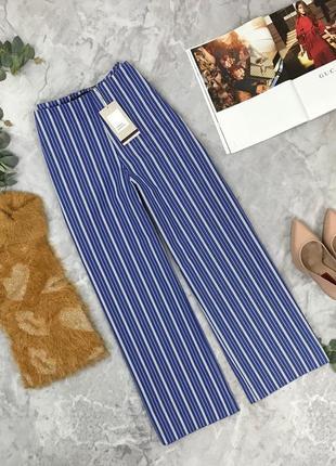 Стильные брюки в полоску от zara  pn1850007 zara