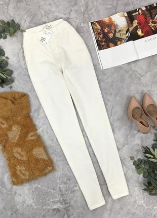 Белоснежные брюки от h&m  pn1850008 h&m