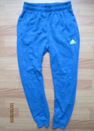 Утеплённые спортивные штаны adidas на 11-12 лет 2016г1 фото
