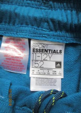 Утеплённые спортивные штаны adidas на 11-12 лет 2016г5 фото