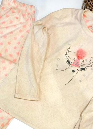 Тепленькая пижамка primark