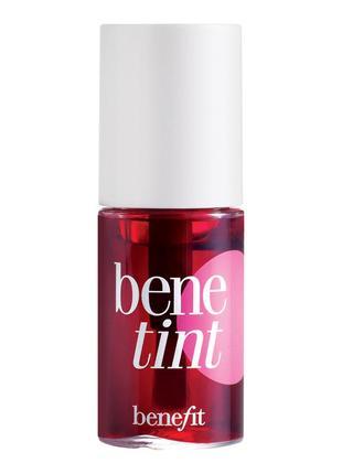 Пигмент для губ и щёк benefit benetint