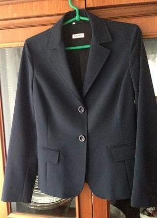 Темно-синий пиджак max&co