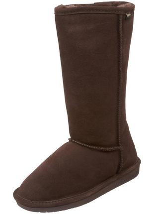 Bearpaw emma tall - натуральные угги - 39р, 40р, 41