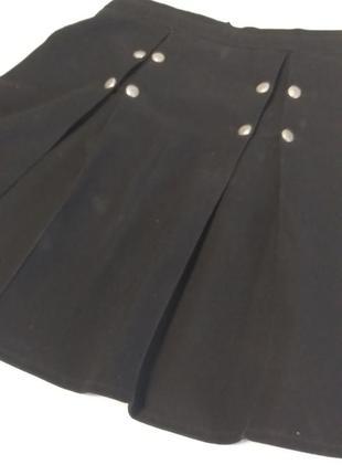 Черная детская юбка
