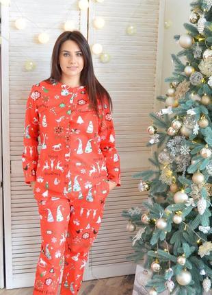 7876c8139333a Новогодние пижамы женские 2019 - купить недорого вещи в интернет ...