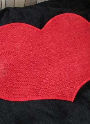 Салфетка-сердце