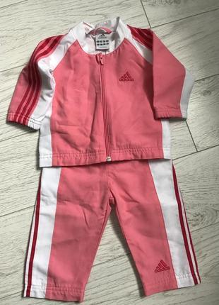 9-12мес спортивный костюм adidas