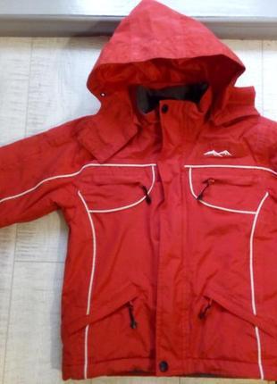 Куртка зима мальчику/девочке 6-7лет
