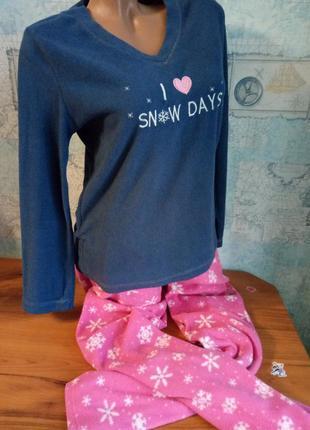 Пижама комплект для дома флис