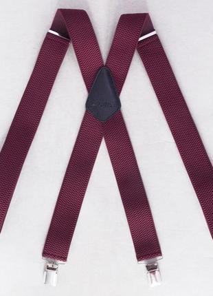 Мужские боровые подтяжки paolo udini х-образные (арт. 505)