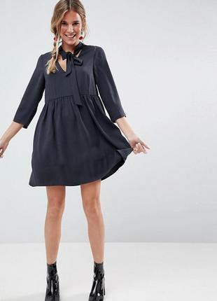 Свободно мини платье asos,р-р 8