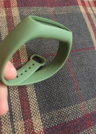 Ремешок фитнес браслет xiaomi mi band 2 mijobs зеленый ми2