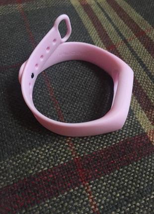 Ремешок фитнес браслет xiaomi mi band 2 mijobs розовый