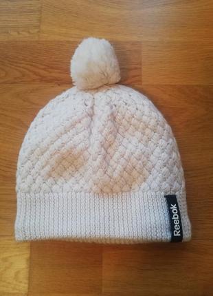 Теплая шапка reebok