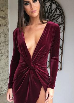 Шикарное  бархатное платье люкс есть цвета и размеры