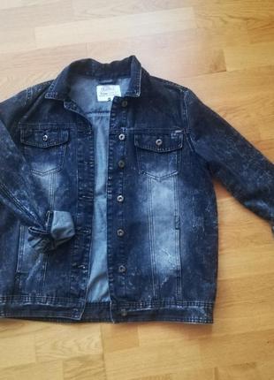 Джинсовая куртка cluillin