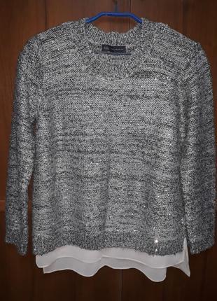Теплый свитер marks & spencer