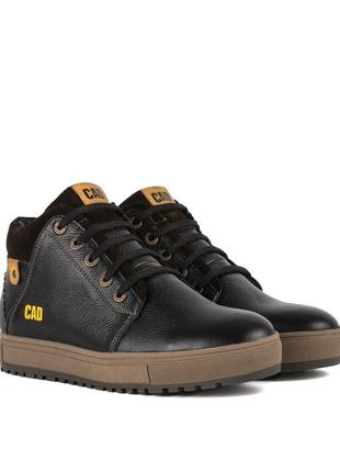 3266 мужские ботинки cad,на толстой подошве,на низком ходу,на шнурках