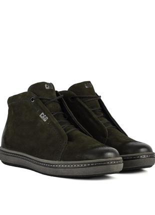 3264 мужские ботинки cad,на толстой подошве,на низком ходу,на шнурках