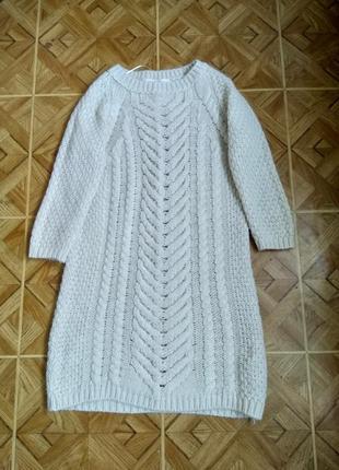 Теплое платье zara