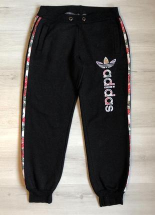 Спортивные штаны adidas ( утеплённые)