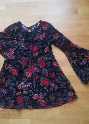 Шикарное платье forever21