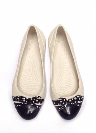Новые балетки кроксы crocs (сша)
