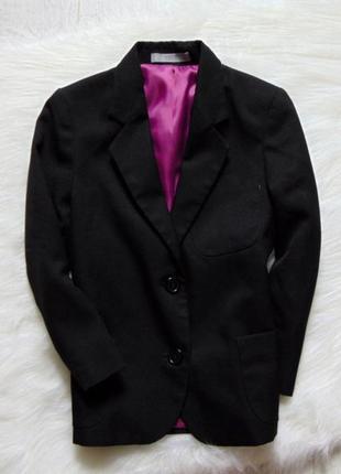 Шикарный черный пиджак для джентельмена. m&s. размер 5 лет