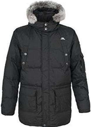 Мужская зимняя пуховая куртка парка trespass оригинал