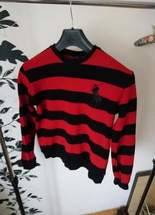 Свитшот-свитер теплый ralph lauren