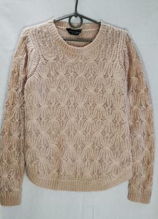 Пудровый мягкий свитерок