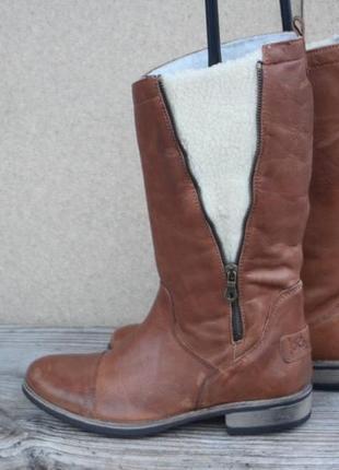 Сапоги roxy кожа австралия 39р новые зимние ботинки