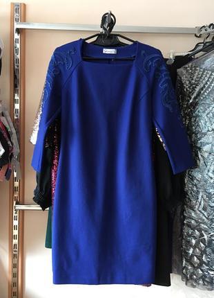 Эффектное , дизайнерское  платье , 40 европ. размер